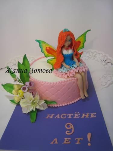 Торт корзина с фруктами торт баня